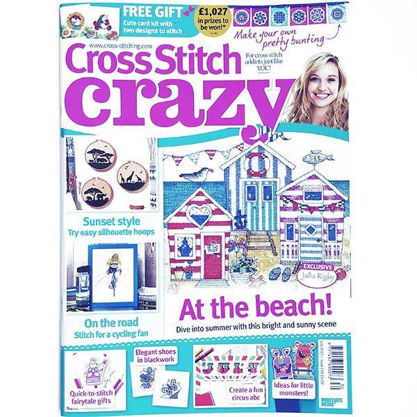 Cross Stitch Crazy July 2017