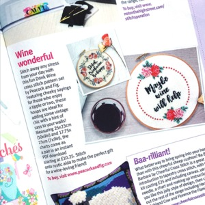 Cross Stitch Crazy magazine March 2017