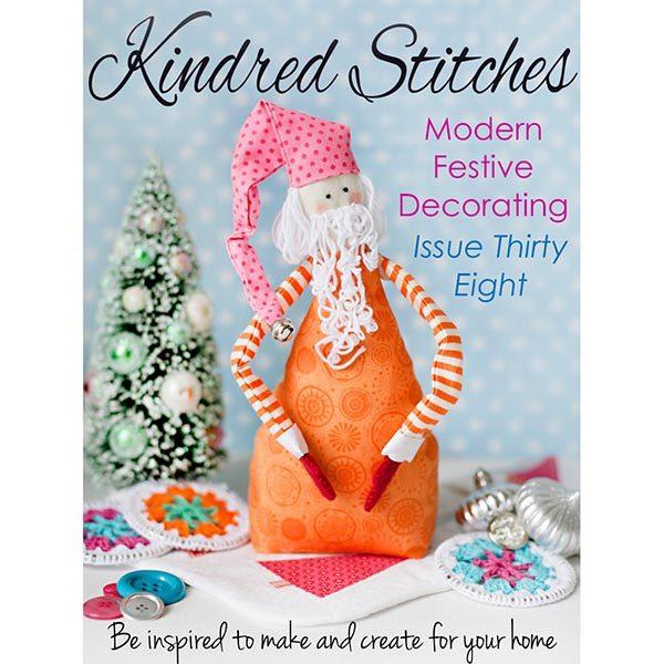Kindred Stitches Dec 2016 cross stitch