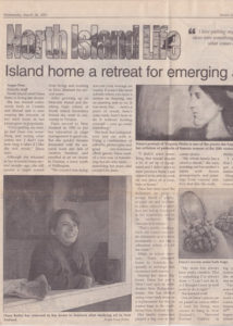 North Island Gazette - Dana Batho