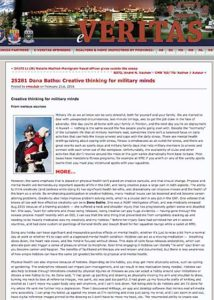 e-Veritas - 25281 Dana Batho: Creative thinking for military minds