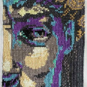 David cross stitch 2014 gallery © Dana Batho