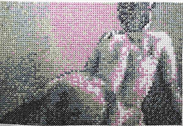 Gaze cross stitch 2014 gallery © Dana Batho