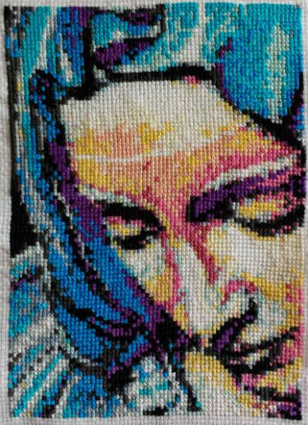 Pieta cross stitch 2014 gallery © Dana Batho