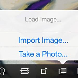 Load reference image ArtRage