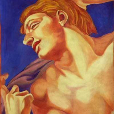 Breathe oil painting 2002 gallery © Dana Batho