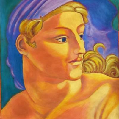 Day oil painting 2002 gallery © Dana Batho