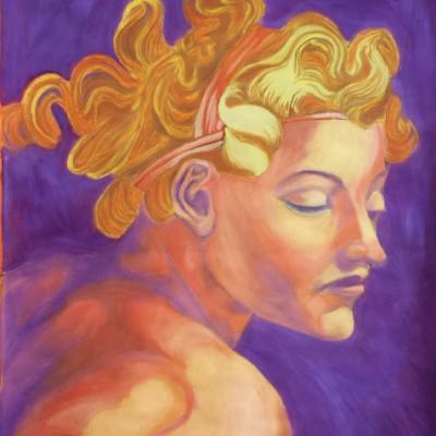 Night oil painting 2002 gallery © Dana Batho