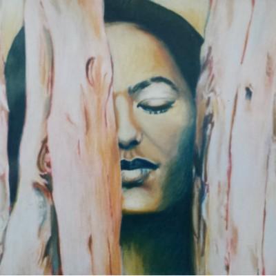 Strength oil painting 1999 gallery © Dana Batho
