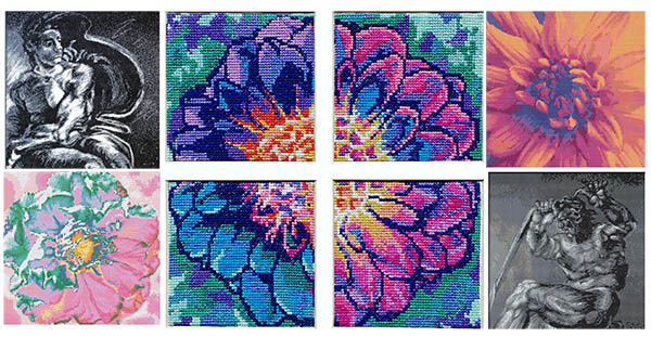 Signature collection cross stitch patterns