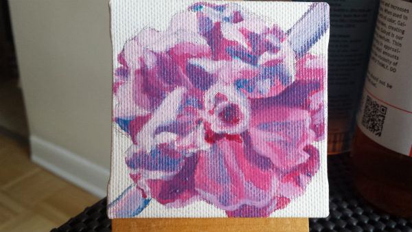 Oil painting progress part 4
