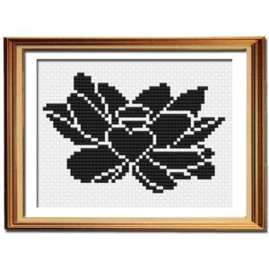 Sabbatical Beauty logo cross stitch pattern