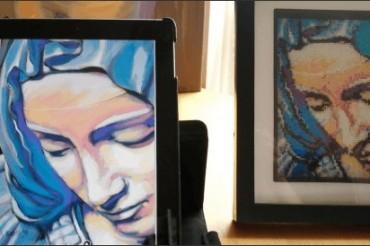 Turning art into cross stitch patterns using MacStitch