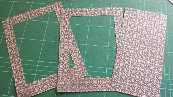 Cut patterned paper