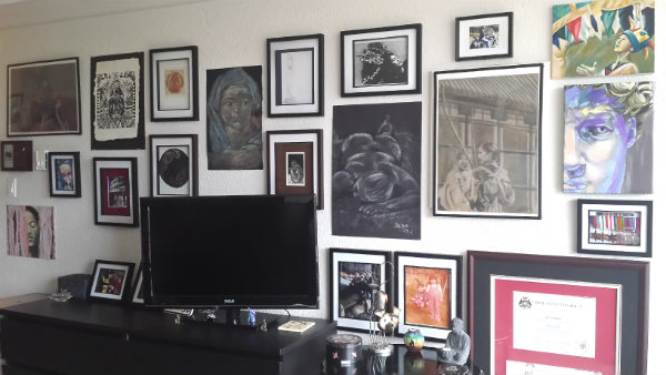 finished gallery wall 2