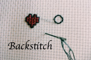 Backstitch video tutorial