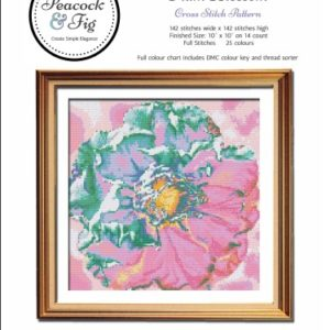 Plum Blossom cross stitch pattern cover