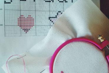 Cross stitch pattern design for beginners