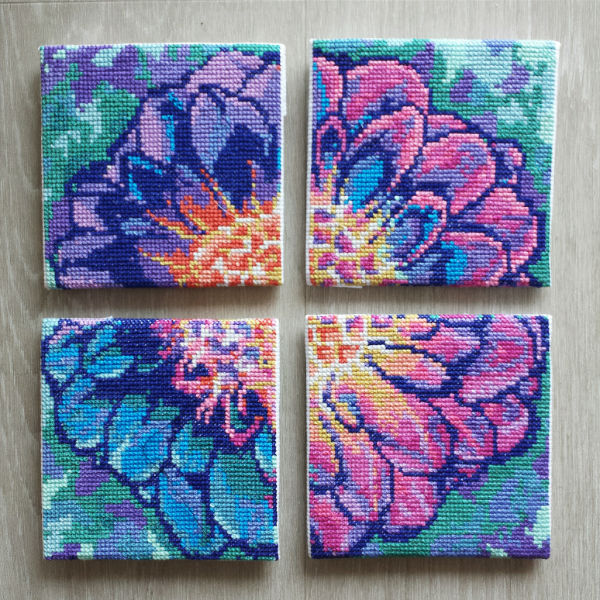 How To Frame Cross Stitch And Embroidery Peacock Amp Fig