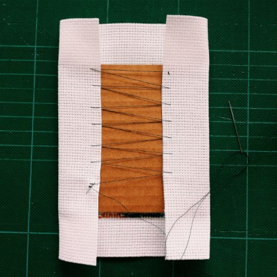 frame cross stitch panels