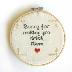 Happy Mother's Day free cross stitch pattern