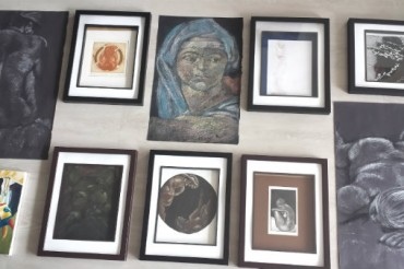 How to create a gallery wall for your art
