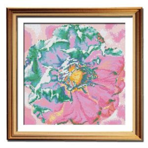 Plum Blossom counted cross stitch pattern