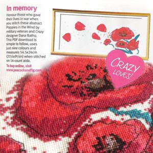As featured in Cross Stitch Crazy Nov 2017