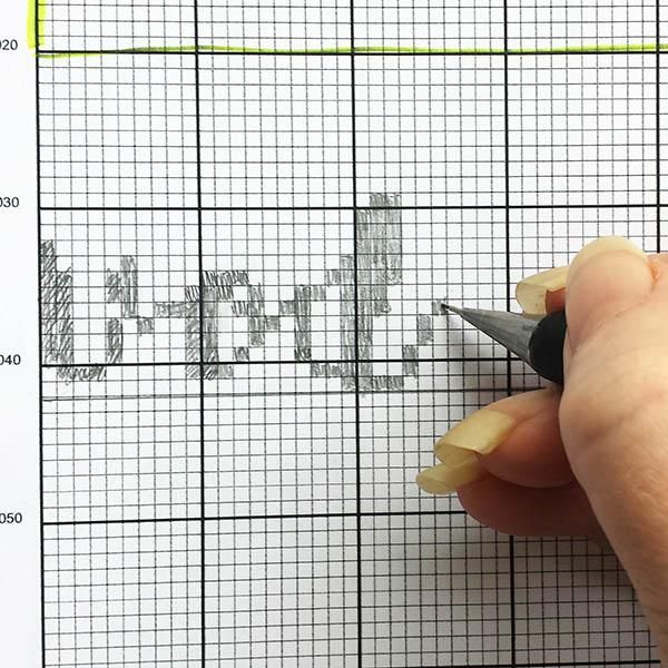 Cross stitch alphabet chart instructions