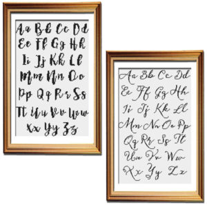 Vintage Sass cross stitch alphabet bundle