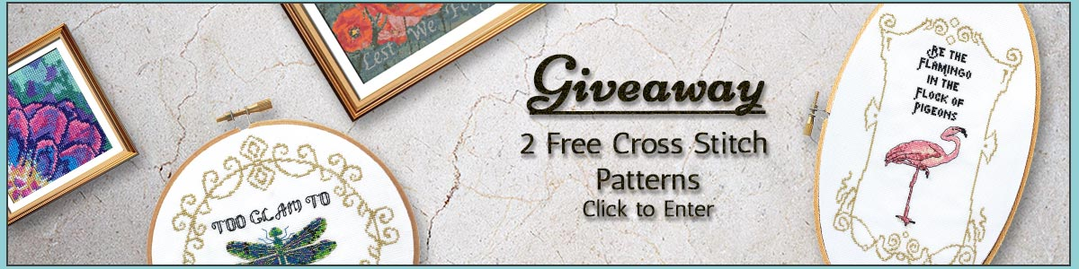 Cross stitch pattern giveaway