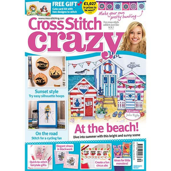 Cross Stitch Crazy Magazine July 2017 (issue 230)