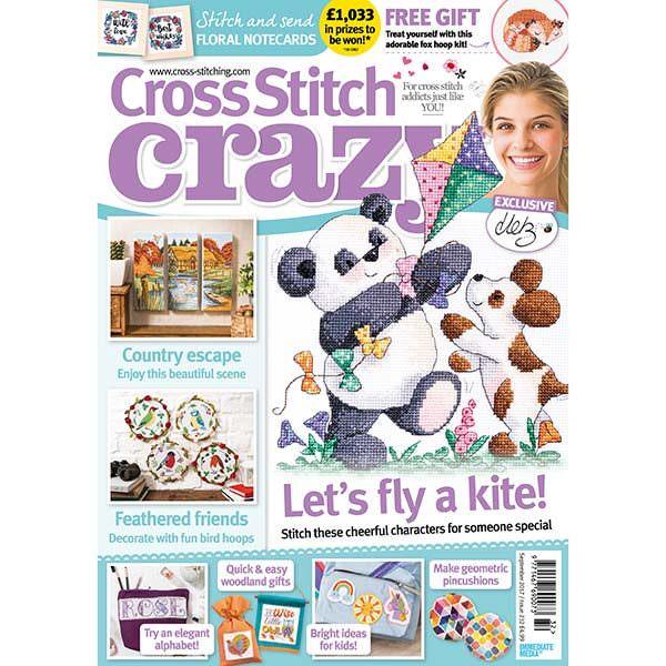 Cross Stitch Crazy Magazine Sept 2017 (issue 232)