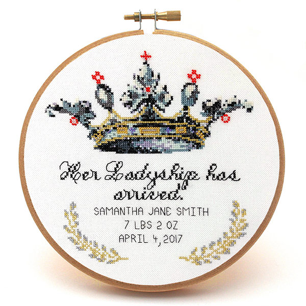 Her-Ladyship-baby-girl-cross-stitch-pattern