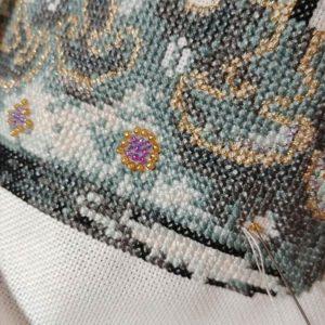 His Lordship baby boy cross stitch pattern