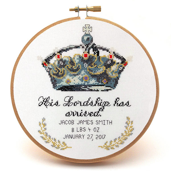 His-Lordship-baby-boy-cross-stitch-pattern