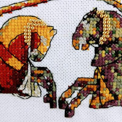 Joust Another Anniversary cross stitch pattern