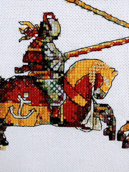 Joust Another Anniversary cross stitch pattern
