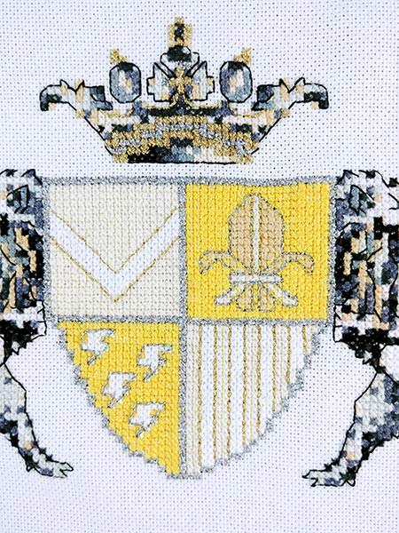 New Heir baby cross stitch pattern