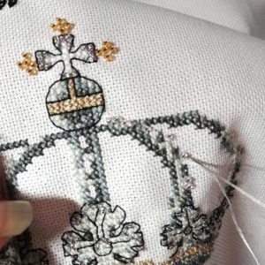 Royal Wedding cross stitch pattern