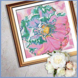 Plum Blossom Cross Stitch Pattern