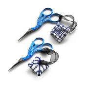 Scissor fob cross stitch pattern