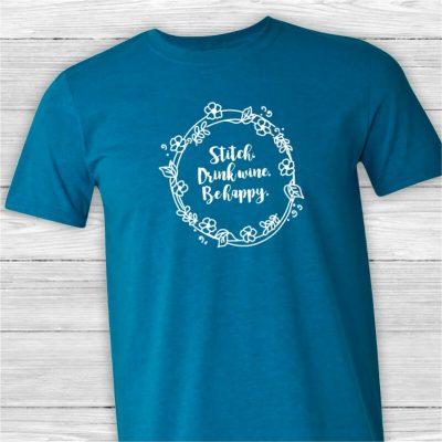Stitch-Drink-Happy-Unisex-Tee