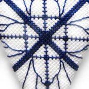 cross stitch set scissor case fob