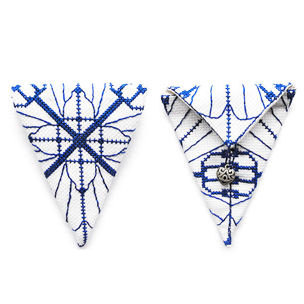 scissor case cross stitch pattern