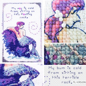 Cold Rock cross stitch pattern