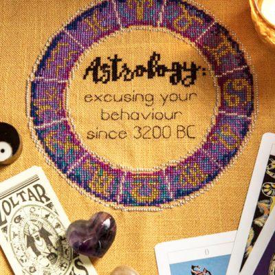 Astrology Xstitch Magazine cross stitch pattern