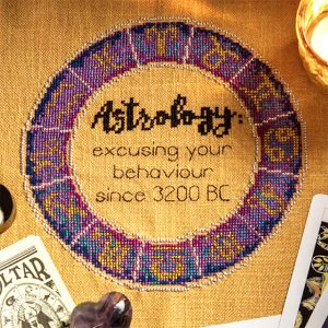 Astrology Xstitch Magazine cross stitch pattern