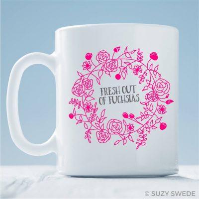 Fresh-Out-Fuschia-Coffee-Mug