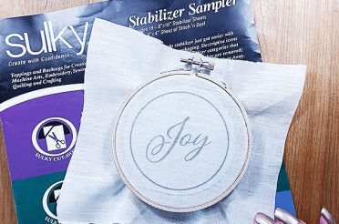 Sulky cross stitch and embroidery stabilizers